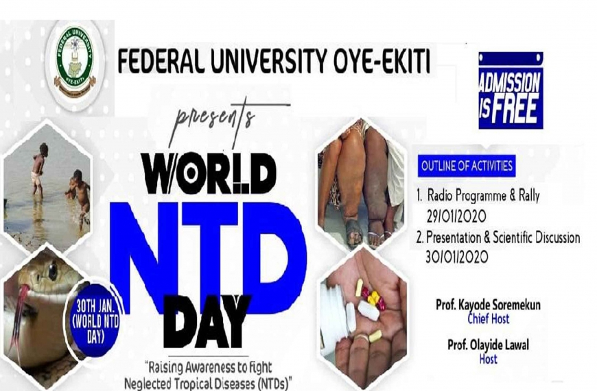 FUOYE, with a rally, joins others to observe NTDs day
